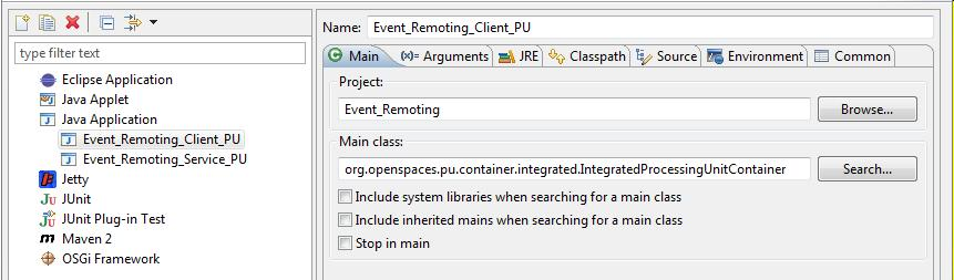 Event Driven Remoting Example